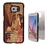 nenhum caso duro alumínio de design importa para Samsung Galaxy S6