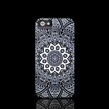 / caso del iphone 4 s cubierta del patrón de flor mandala azteca para el iphone 4 carcasa