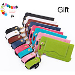 Lanyard and Bracket 2-1 Full-body Cover Case for iPhone 6 Plus(Assorted Colors)