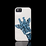 Giraffe Pattern Hard Cover for iPhone 5 Case for iPhone 5 S
