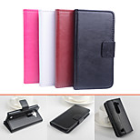 Protective PU Leather Magnetic Vertical Flip Case for LG Leon.C40(Assorted Colors)