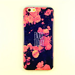 Chinese Rose Pattern TPU And IMD Soft Case For iPhone 5/5S