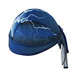 Bandana Bike Cycling,WEST BIKING® Unisex Soft Breathable Bicycle Cap Lightning Polyester Pirate Kerchief UV Sunscreen Cycling Accessories
