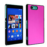Brushed Metal Plating Phone Case for Sony Z3 Mini(Assorted Colors)