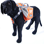 Solid Color with Paw Pattern Design Travel Backpack for Pets Dogs(Assorted Colors)