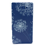 Dandelion Pattern PC Hard Material Phone Case for Sony Xperia M2 S50h D2303 D2305