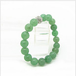 Woman Dongling Jade Beads 6MM Bracelet