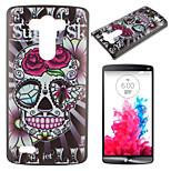 Skull Pattern PC Phone Case for LG G3