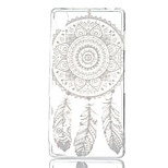 Campanula Printing Pattern Painted  TPU Material Phone Case for Sony Z3
