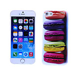 Macaron Pattern TPU And IMD Soft Case for iPhone 6 Plus