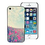 belle étui rigide de conception de fleur pour iPhone 4 / 4S