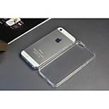 cajas del teléfono para iphone 5 y 5 años para el teléfono de la manzana 0,3 mm TPU cubierta del teléfono transparente de protección de