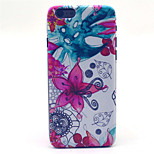Morning Glory  Pattern PC Hard Case for iPhone 6