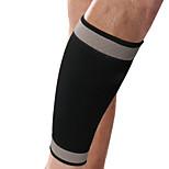 Ollas Unisex Outdoor Fitness Black Nylon Elastic Legs Protective Gear/Neoprene Slim leg Calf/Crus Supporter S9550