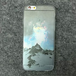 Landscape Painting Pattern TPU Phone Case For iPhone 6 Plus
