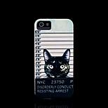 cat patroon dekking voor iphone 4 case / iphone 4 s case