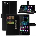 lichia em torno de suporte aberto telefone couro cartão da carteira adequado para fab Wiko cume 4g (cores sortidas)