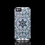 / iphone caso azteco copertura del modello mandala fiore per il caso di iphone 4 4 s