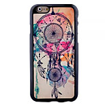 Campanula Pattern Paste Paper Painting TPU Phone Case For iPhone 6