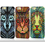 Hot Sale Fashional Luminous Totem Relief New Ultra-thin PC  Phone Case for IPhone6 Indian StylE Totem Free Shipping