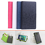 Protective PU Leather Magnetic Vertical Flip Case for Lenovo S8 Play A5860(Assorted Colors)