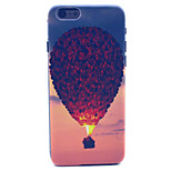 Hot Air Balloon Pattern Plastic Hard Cover for iPhone 6