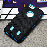 Tire Pattern Rubber Case Protective With Stand Cover for iPhone 6