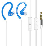 JTX-Y01 3.5mm High Quality Noise-Cancelling Mike In Ear Earphone for Iphone and Other Phones(Assorted Colors)