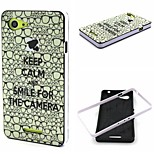 Glasses Pattern TPU + PC Side Combo Phone Case For Sony Xperia E3