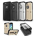 super protection combo support shell étui protecteur pour iphone 6 (couleurs assorties)