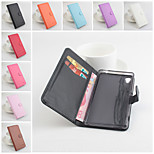 PU Leather Protective Case With Holder Stand for Sony Xperia M4(Assorted Colors)