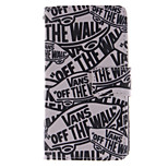 Fashion Design COCO FUN® Off The Wall Pattern Wallet Slot PU Leather Case for Sony Z3 mini