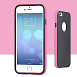 Color Bare Fruit TPU Metal Combo Phone Case for iPhone 6(Assorted Colors)