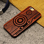 Pear Wood  Camera Hard Back Cover for iPhone 6