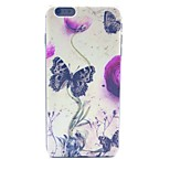 Butterfly Pattern PC Material Phone Case for iPhone 6 Plus