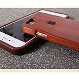 genuino caso in legno massello per iPhone 6 legno veri duri copertura cellulare naturale artigianale