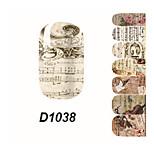- Finger - 3D Nails Nagelaufkleber - Andere 14.5*7.5*0.1 cm