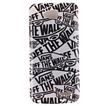 Cartoon Letters Pattern TPU Soft Case for LG 90