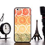 Lemon Pattern Frame Back Cover for iPhone 6