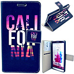 C L Pattern with Card Bag Full Body Case for LG G3