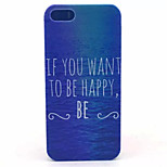 Always Love Pattern PC Hard Case For iPhone 5/5S