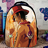 Bag Inspired by One Piece Cosplay Anime Cosplay Accessories Bag / Backpack Orange Nylon Male