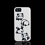 Panda Pattern Hard Cover for iPhone 5 Case for iPhone 5 S