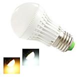 1 pcs Ding Yao E27 5W 15SMD 2835 250-350LM 2800-3500/6000-6500K Warm White/Cool White Globe Bulbs AC 220-240V
