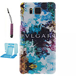 Magic  Pattern TPU Phone Case  for Samsung Galaxy Alpha/G850