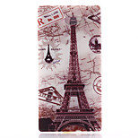 Transmission Tower Pattern Material TPU Soft Phone Case for Sony Xperia M2