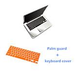 Super Slim Sliver Slim PalmGuard and TPU Keyboard Cover for Macbook Air 13.3