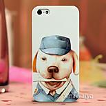color cáscara de la protección del estilo de moda de dibujo para iPhone5 / 5s maiya-p123