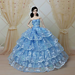 Party & Evening Dresses For Barbie Doll Blue Dresses
