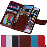 IPhone 6 4.7inch Case,WOOZU (TM) Fashion Premium Leather Wallet Cover  Magnet Design Flip Stand Case with Card Slot